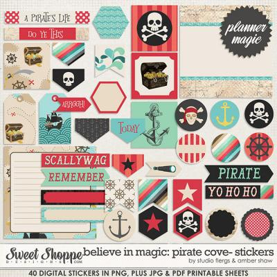 Believe In Magic: Pirate Cove Planner Magic by Amber Shaw & Studio Flergs