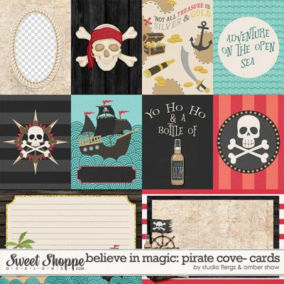 Believe In Magic: Pirate Cove Cards by Amber Shaw & Studio Flergs