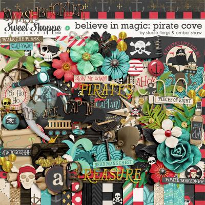 Believe In Magic: Pirate Cove by Amber Shaw & Studio Flergs