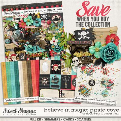 Believe In Magic: Pirate Cove Collection by Amber Shaw & Studio Flergs