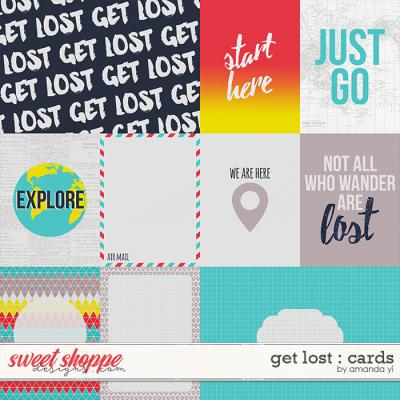 Get Lost : Cards by Amanda Yi