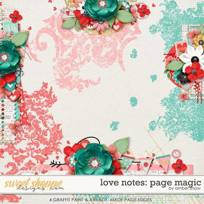 Love Notes: Page Magic by Amber Shaw