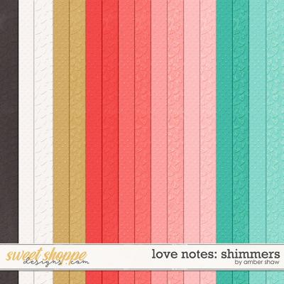 Love Notes: Shimmers by Amber Shaw