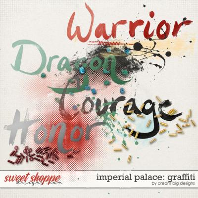 Imperial Palace: Graffiti by Dream Big Designs