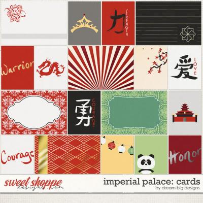 Imperial Palace: Cards by Dream Big Designs