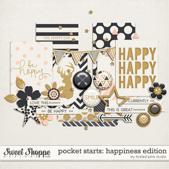 Pocket Starts: Happiness Edition by Tickled Pink Studio