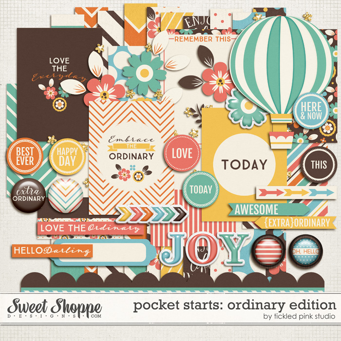 Pocket Starts: Ordinary Edition by Tickled Pink Studio