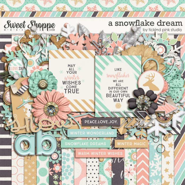 A Snowflake Dream by Tickled Pink Studio