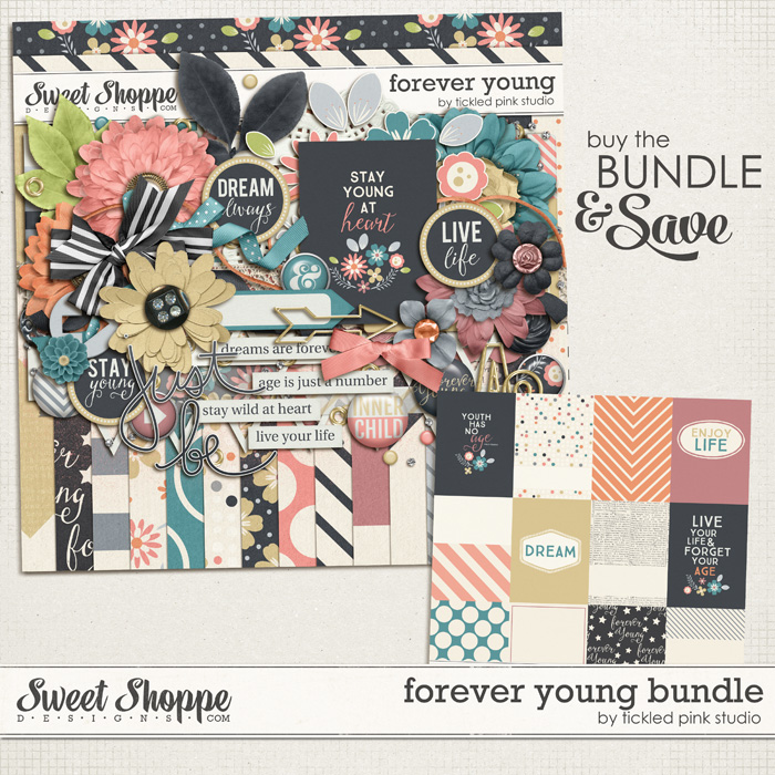 Forever Young Bundle by Tickled Pink Studio