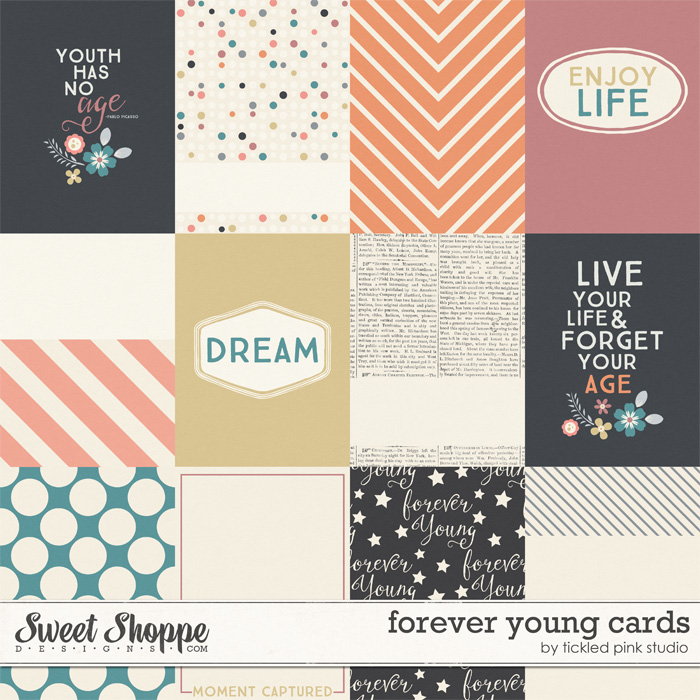 Forever Young Cards by Tickled Pink Studio