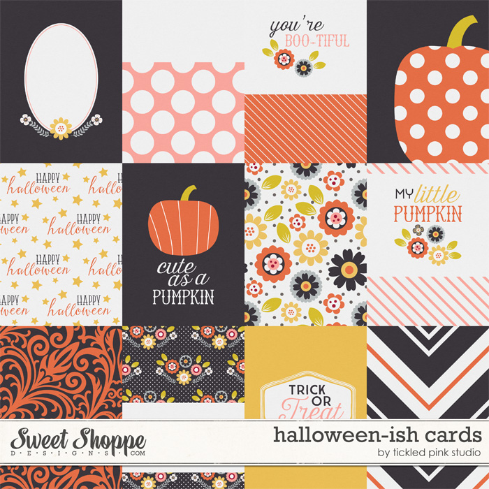 Halloween-ish Cards by Tickled Pink Studio