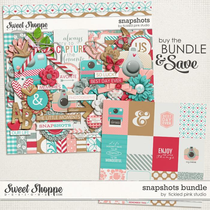 Snapshots Bundle by Tickled Pink Studio
