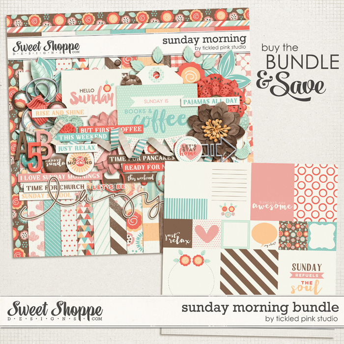 Sunday Morning Bundle by Tickled Pink Studio