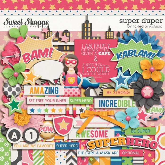 Super Duper by Tickled Pink Studio