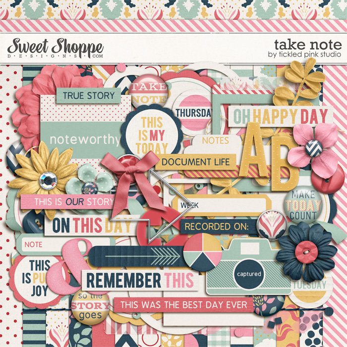 Take Note by Tickled Pink Studio
