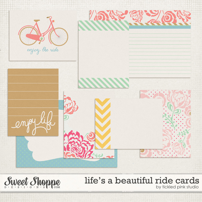 Life's A Beautiful Ride Cards by Tickled Pink Studio