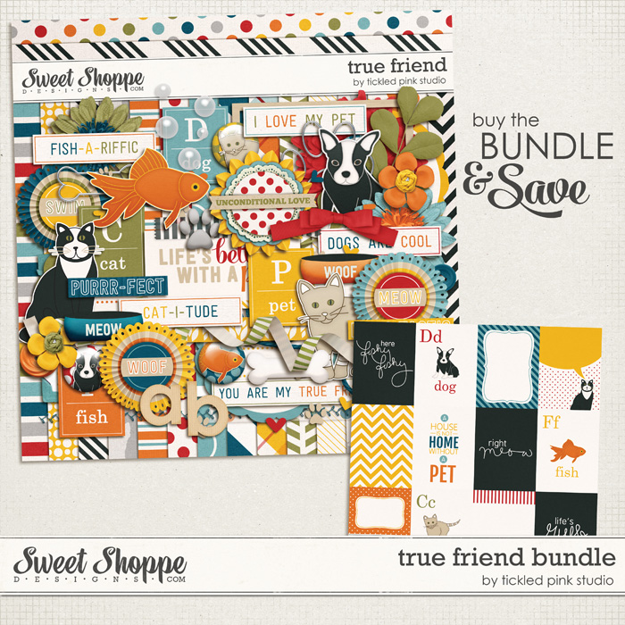 True Friend Bundle by Tickled Pink Studio