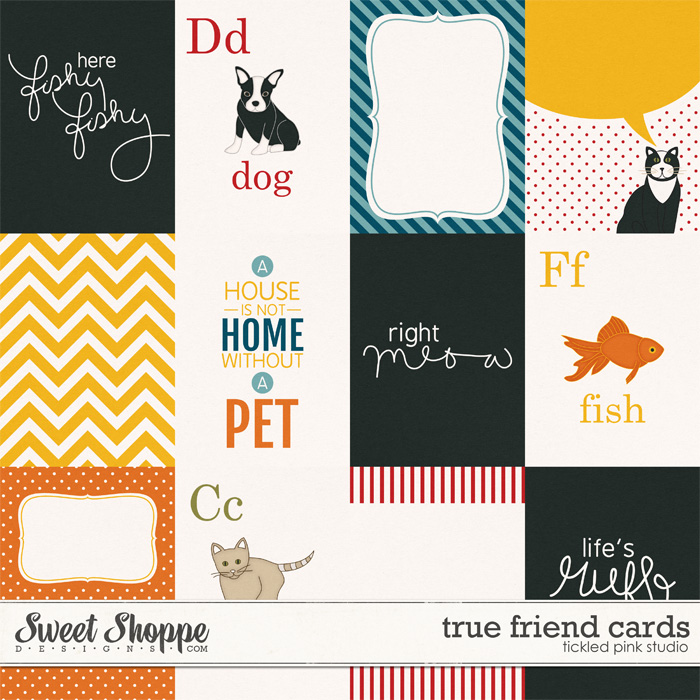 True Friend Cards by Tickled Pink Studio
