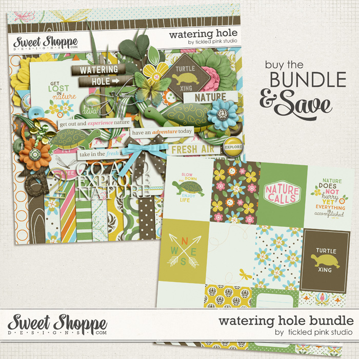 Watering Hole Bundle by Tickled Pink Studio