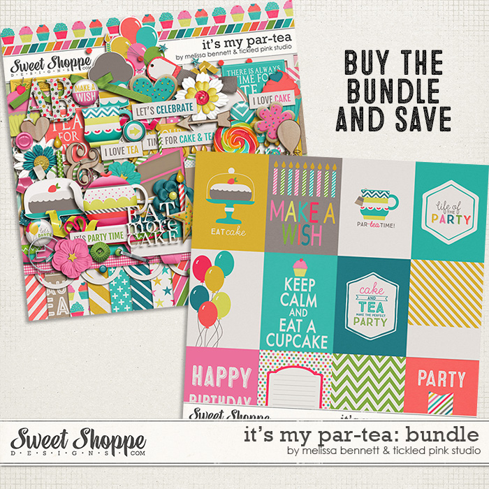 It's My Par-tea: Bundle by Melissa Bennett & Tickled Pink Studio