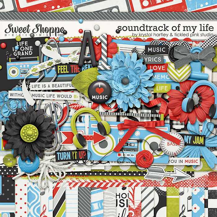 Soundtrack of My Life by Krystal Hartley & Tickled Pink Studio