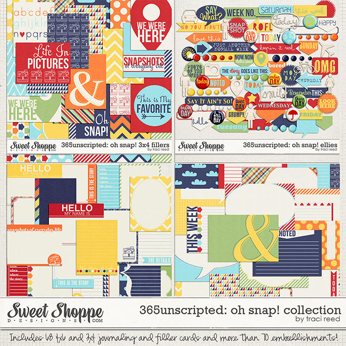 365Unscripted: Oh Snap! Collection by Traci Reed