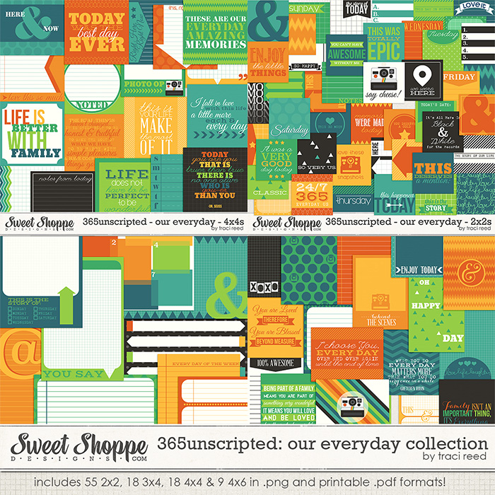 365Unscripted: Our Everyday Collection by Traci Reed