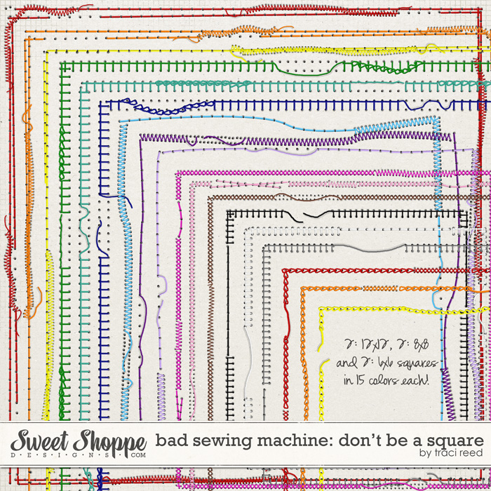 Bad Sewing Machine IV: Don't Be A Square by Traci Reed