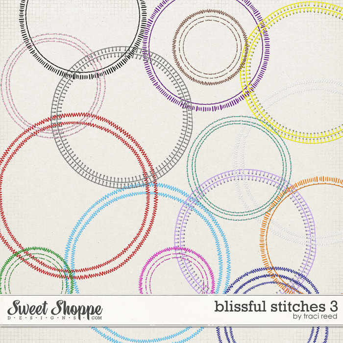 Blissful Stitching - Curved by Traci Reed
