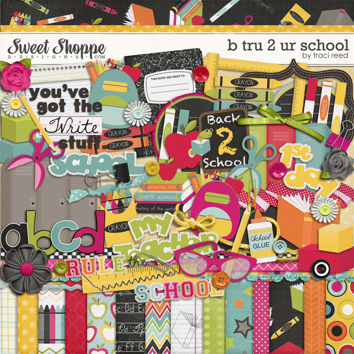B Tru 2 Ur School by Traci Reed