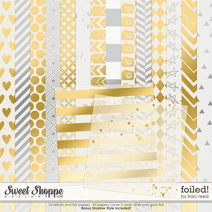 Foiled Papers by Traci Reed