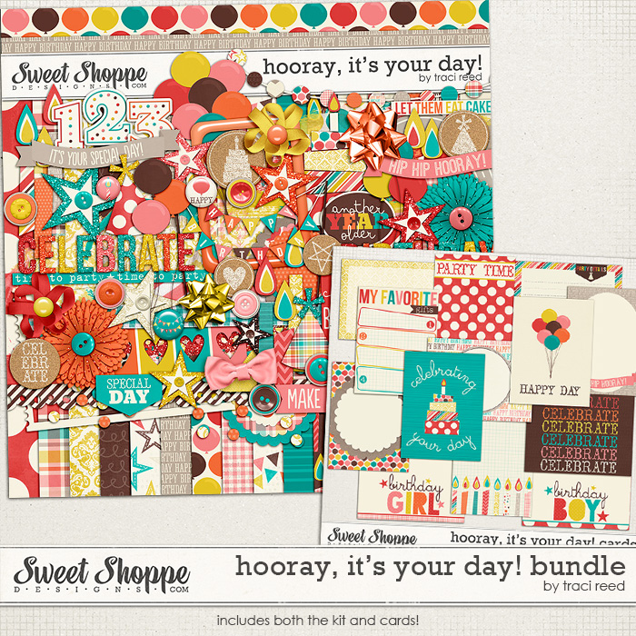 Hooray, It's Your Day! Bundle by Traci Reed