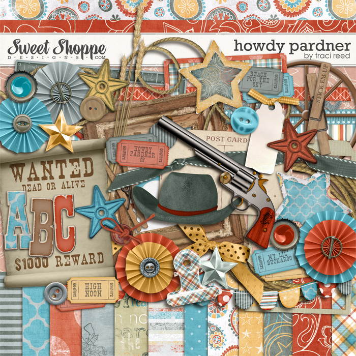 Howdy Pardner by Traci Reed