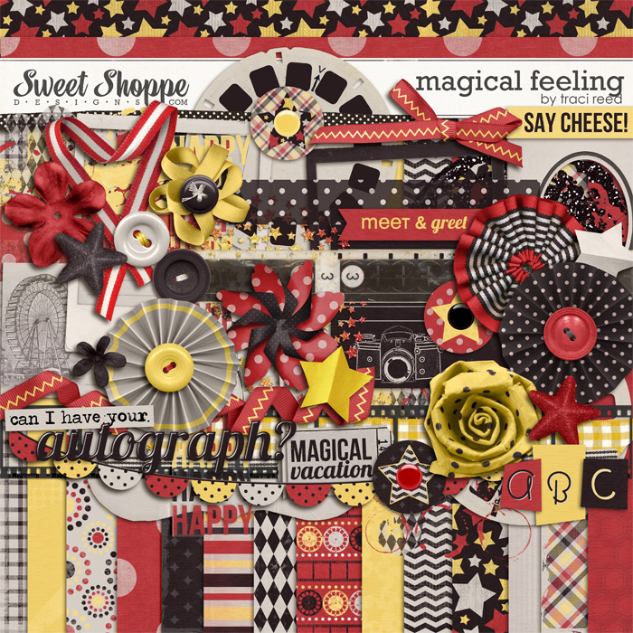 Magical Feeling digital scrapbooking supplies by Traci Reed
