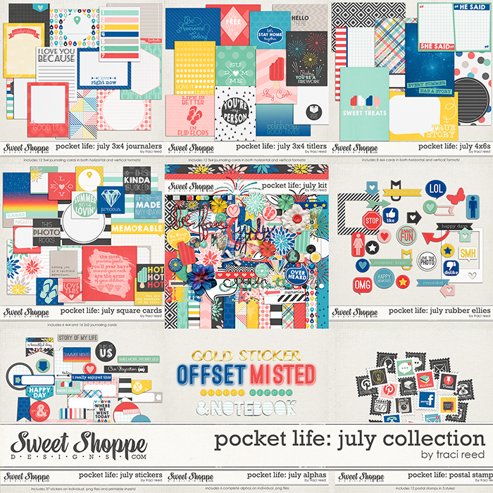 Pocket Life: July Collection by Traci Reed