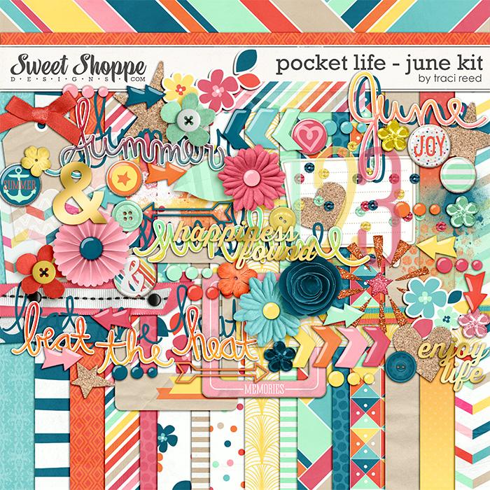 Pocket Life: June Digital Kit by Traci Reed