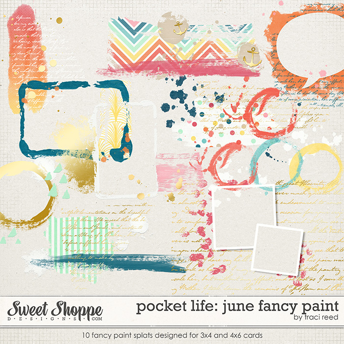Pocket Life: June Fancy Paint by Traci Reed