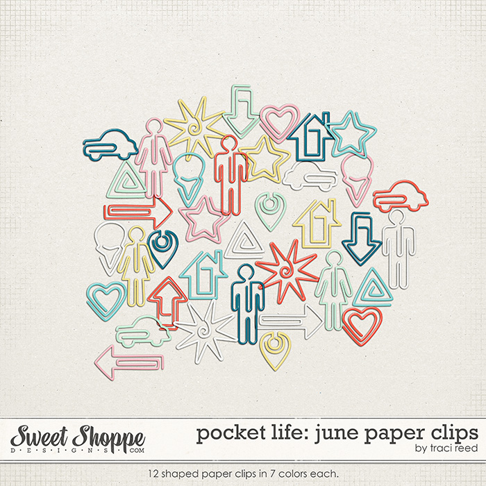 Pocket Life: June Paper Clips by Traci Reed