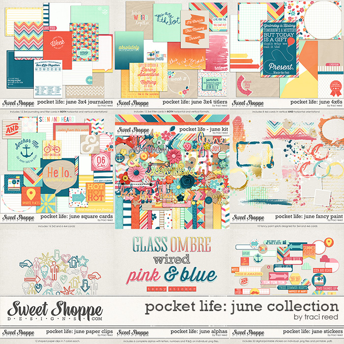 Pocket Life: June Collection by Traci Reed