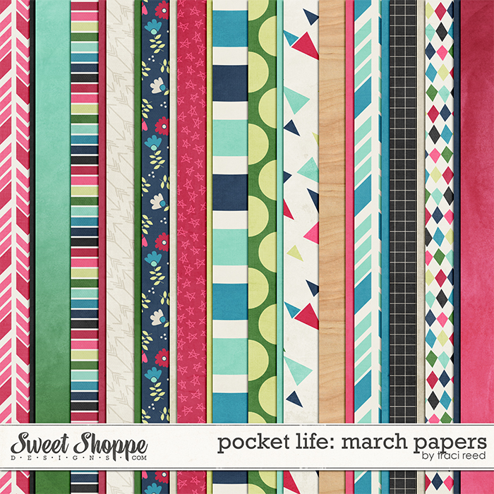 Pocket Life: March Papers by Traci Reed