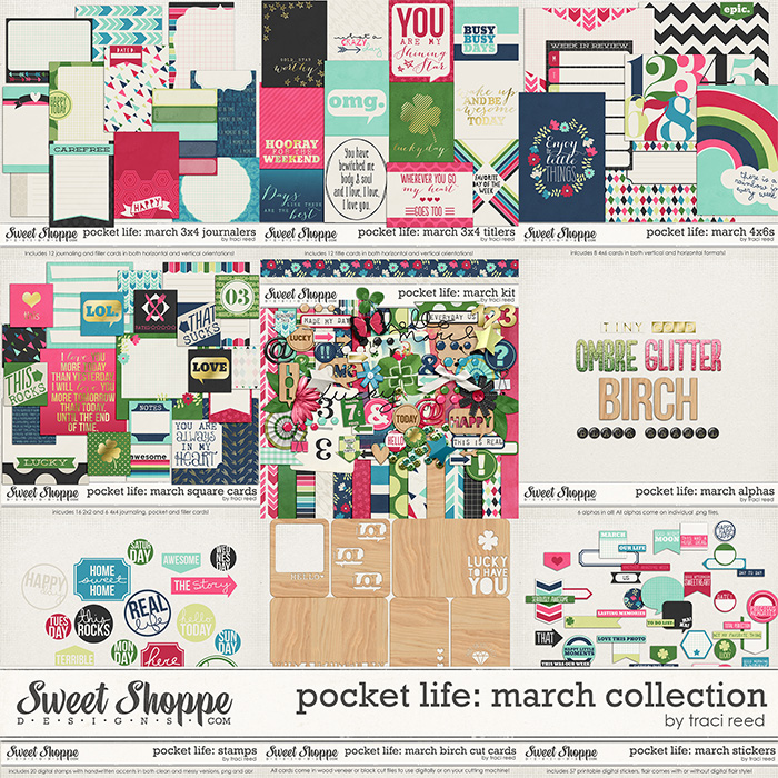 Pocket Life: March Collection by Traci Reed