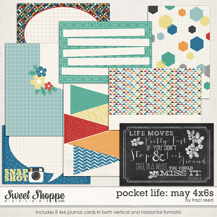 Pocket Life: May 4x6s by Traci Reed