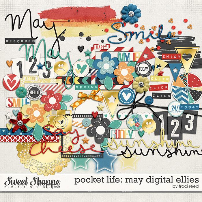 Pocket Life: May Digital Ellies by Traci Reed