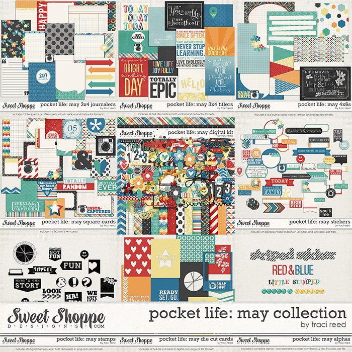 Pocket Life: May Collection by Traci Reed