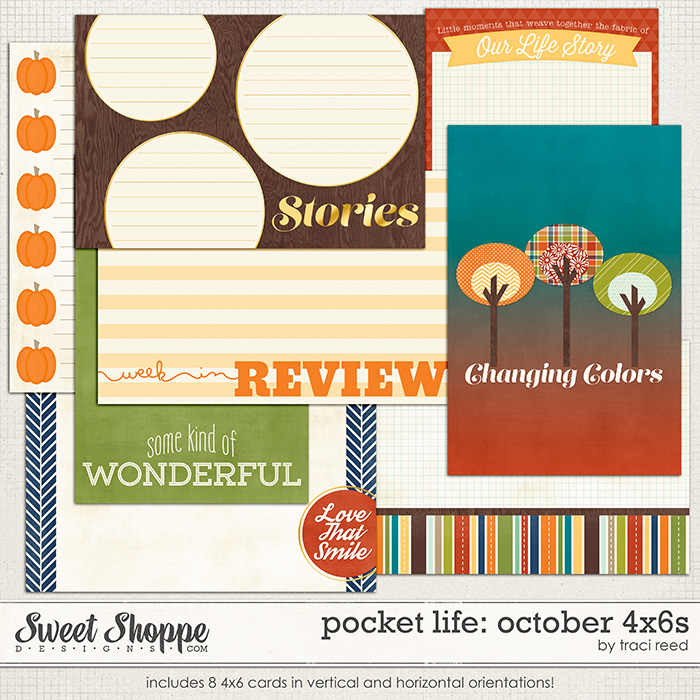 Pocket Life: October 4x6s by Traci Reed
