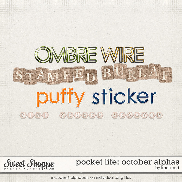 Pocket Life: October Alphas by Traci Reed