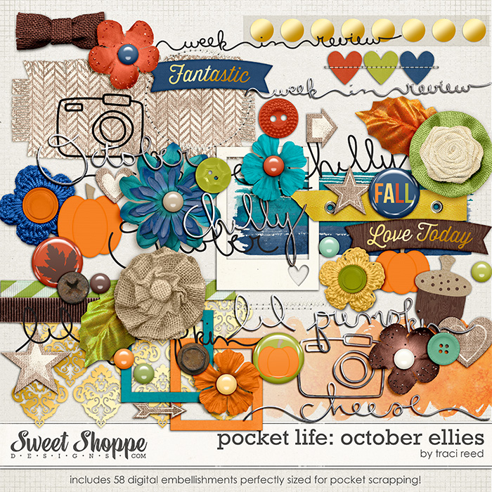 Pocket Life: October Ellies by Traci Reed