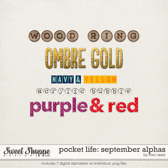 Pocket Life: September Alphas by Traci Reed