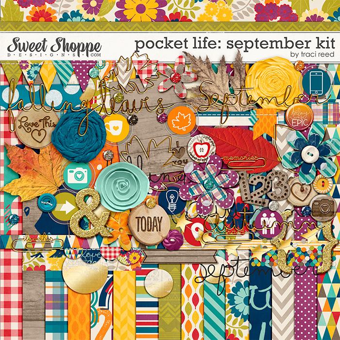 Pocket Life: September Digital Kit by Traci Reed