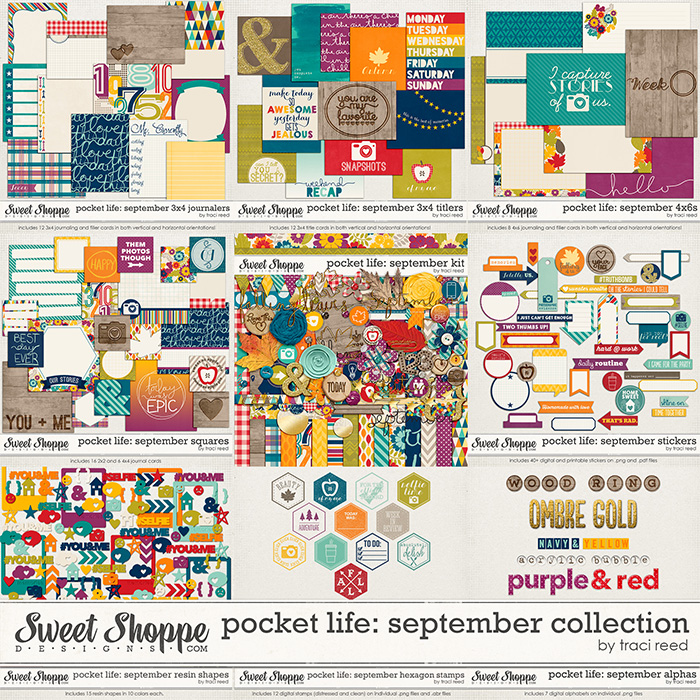 Pocket Life: September Collection by Traci Reed